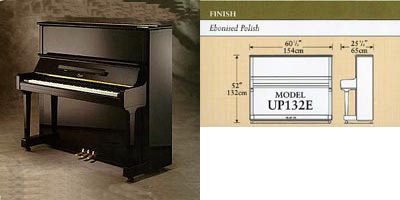 Boston upright piano