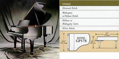 Boston grand piano